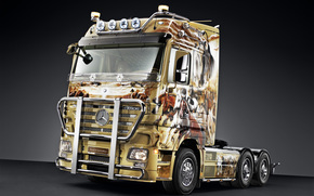 Mercedes, Actros, camion, Mercedes