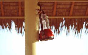 different, lantern, column, photo