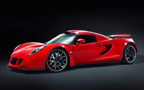 cars, car, machinery, machine, Hennessy, Venom, red, supercars