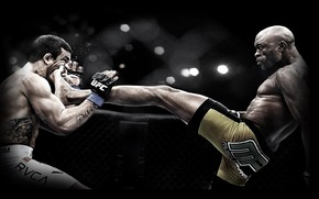 ufc, heel, strike, knockout