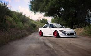 honda s2000, Car, White, cars, machinery, Car