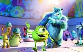 Monsters, Inc., Kruglik, Freunde