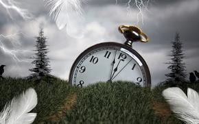 timp, ceas, iarb, penaj, stil, instalare