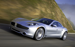 cars, car, machinery, machine, Fisker, karma, gray, road, motion, Other brands