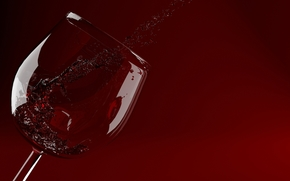 wine, red, goblet, glass