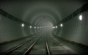 Subway, metro, Tunnel
