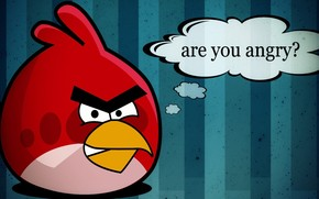 Angry Birds, uccello rosso, domanda