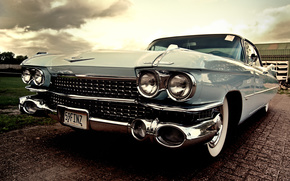 cadillac eldorado 1959, небесного цвета, Машина, Мечта, автомобили, машины, авто