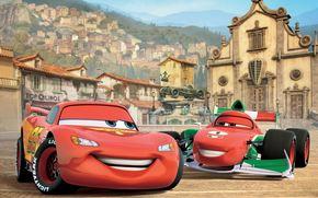 Tokyo Drift, Walt Disney, Cartoon, Sport, race, machinery, World Grand Prix, championship, Italy, Porto Corso, lightning, McQueen, Francesco Bernoulli, Ferrari, Competition, bet