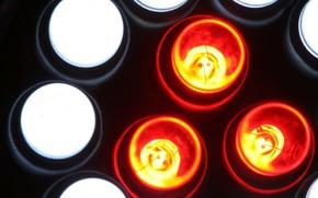 лампы, белый, красный