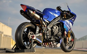 motorcycle, Yamaha, racing