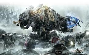 Warhammer, 40k, spazio lupi, gioco
