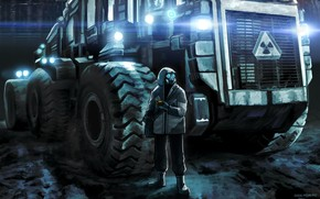 Romance of the apocalypse, soldier, machine