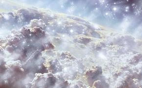 sky, Star, space, face