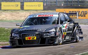 disegno, Auto da corsa, gara, pilota, Audi