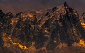 Франция, Альпы, горы, свет