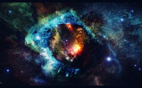 Espace, Art, nbuleuse, Star