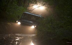 Land Rover, Defender, авто, машины, автомобили