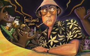 Paura e delirio a Las Vegas, johnny depp, Raoul Duke, Arte, film