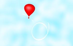 palloncini, Cielo, palloncino, cielo