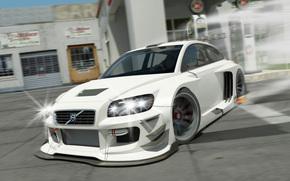 Volvo, Photoshop, Sintonia, disegno, Volvo
