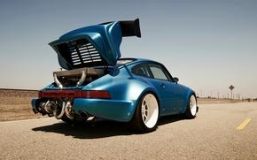 Turbo, track, motor, desert, race, turbonetiks, biturbo, porsche