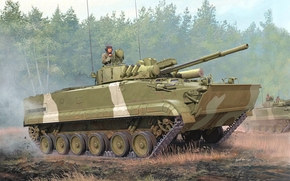 picture, infantry fighting vehicle, Russia
