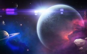 space, Art, Planet