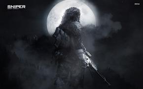 noche, luna