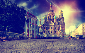 St. Petersburg, temple, Savior on Spilled Blood