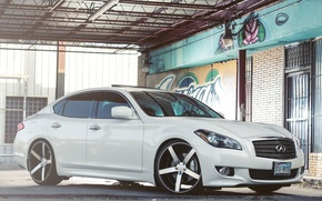 infiniti, Car, White, cars, machinery, Car