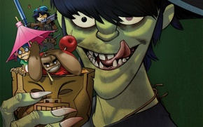 gorillaz, crazy, like