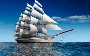istioforo, nave, mare