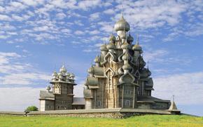 Kizhi churchyard, Kizhi, Church of the Transfiguration, Church of the Transfiguration, Kareliya