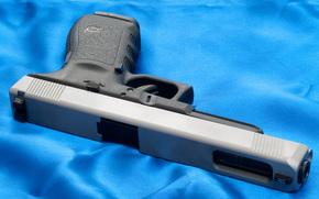 Glock, pistola, Bolt carrier, carta da parati, arma, Austria