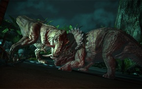 Jurassic Park, battle, Dinosaurs