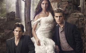 The Vampire Diaries, series, contrast