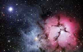 nebula, explosion, gas, variegated