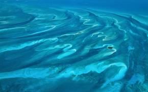 water, ocean, Blue, island, aerial