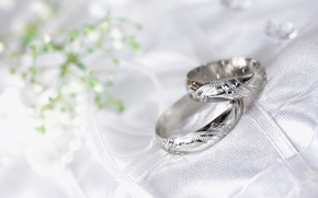 макро, кольца, свадьба