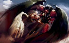 lucha, Primarca, sangvinius, demonio