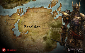 century, dragon, Ferelden, map