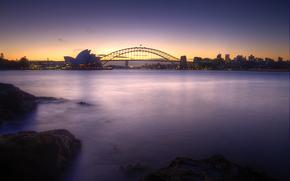 Сидней, Австралия, закат