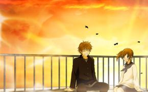 аниме, Это были мы, крыша