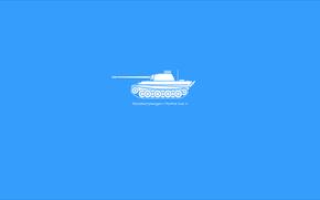 Medium Tank, panther, female cat, minimalism
