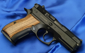 RW, gun, weapon, wallpaper, Czech Republic, Canvas, blue