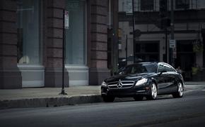 автомобиль, машина, улица, Mercedes