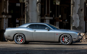 Dodge, Challenger, Car, machinery, cars