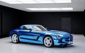 Mercedes-Benz, SLS, авто, машины, автомобили