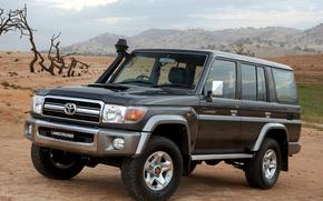 Toyota, Emprestar, Cruzador, Land Cruiser, SUV, Carro, papel de parede, Japo, Toyota